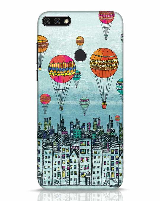 Shop Hot Air Balloon Huawei Honor 7C Mobile Cover-Front