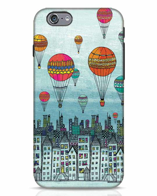 Shop Hot Air Balloon iPhone 6 Mobile Cover-Front
