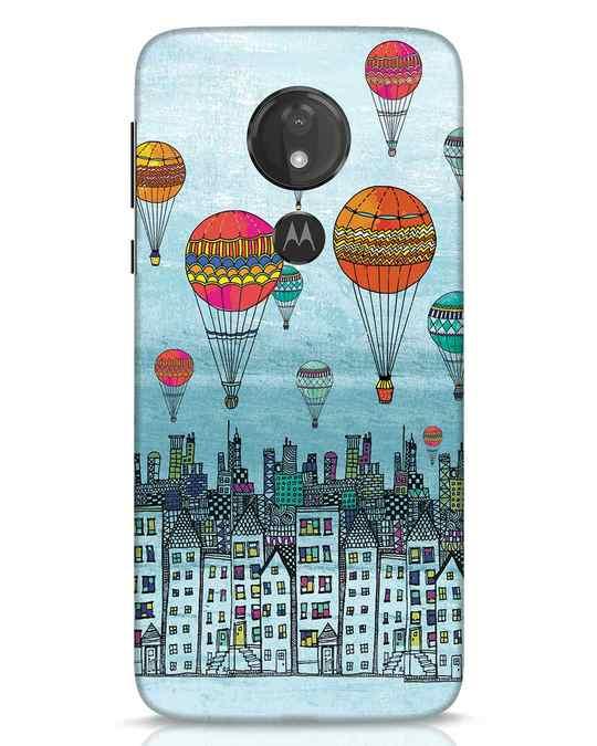 Shop Hot Air Balloon Moto G7 Power Mobile Cover-Front