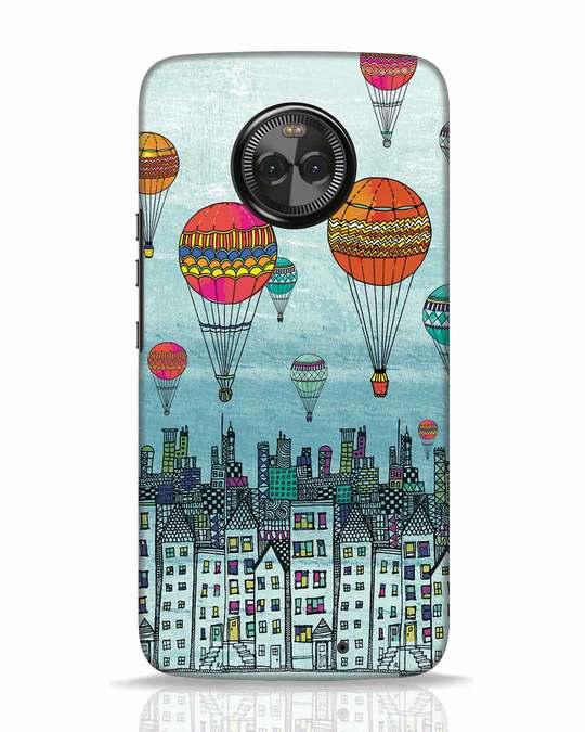 Shop Hot Air Balloon Moto X4 Mobile Cover-Front