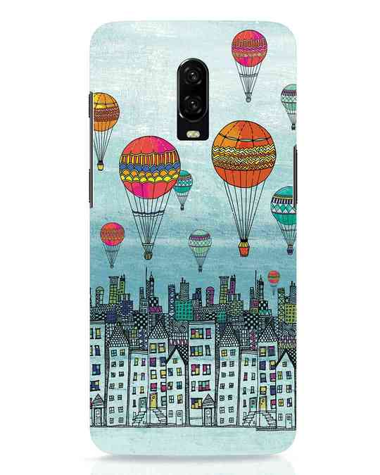 Shop Hot Air Balloon OnePlus 6T Mobile Cover-Front