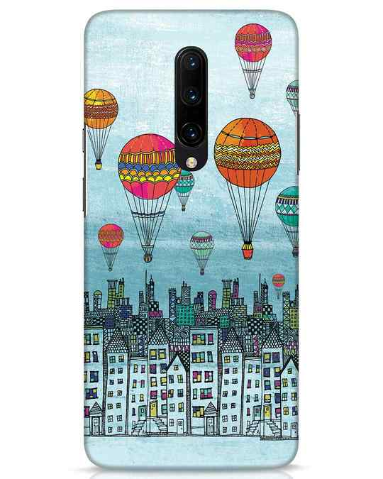 Shop Hot Air Balloon OnePlus 7 Pro Mobile Cover-Front