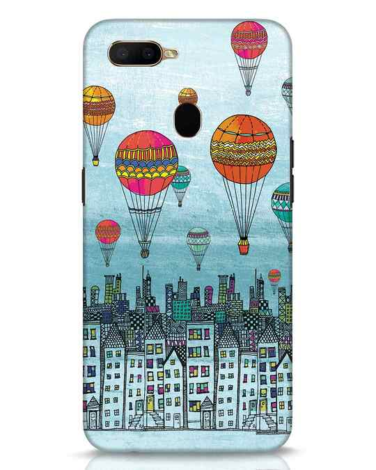 Shop Hot Air Balloon Oppo A5s Mobile Cover-Front