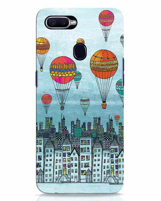 Shop Hot Air Balloon Oppo F9 Pro Mobile Cover-Front