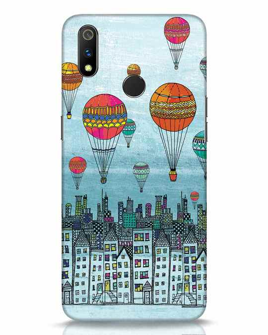 Shop Hot Air Balloon Realme 3 Pro Mobile Cover-Front