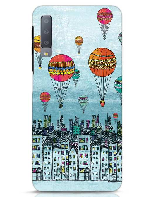 Shop Hot Air Balloon Samsung Galaxy A7 Mobile Cover-Front