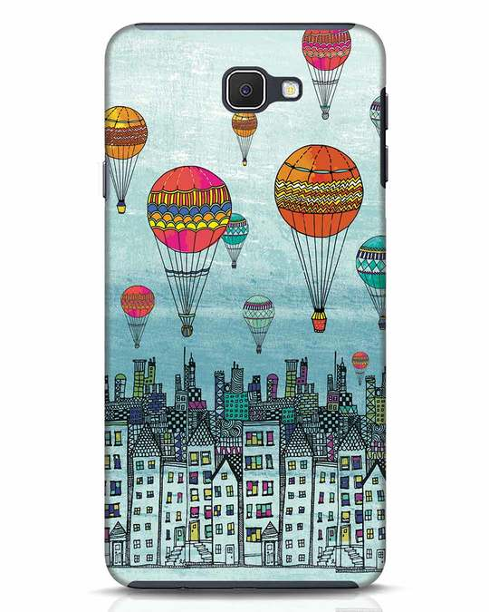 Shop Hot Air Balloon Samsung Galaxy J7 Prime Mobile Cover-Front