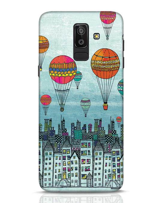 Shop Hot Air Balloon Samsung Galaxy J8 Mobile Cover-Front