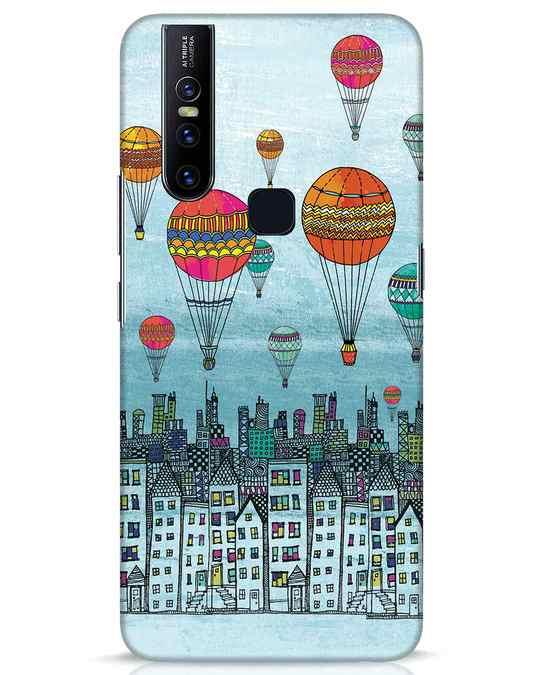 Shop Hot Air Balloon Vivo V15 Mobile Cover-Front
