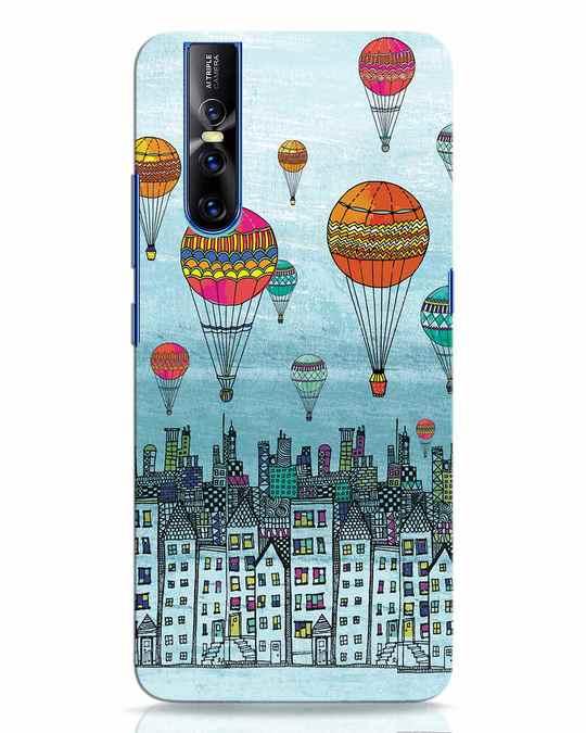 Shop Hot Air Balloon Vivo V15 Pro Mobile Cover-Front