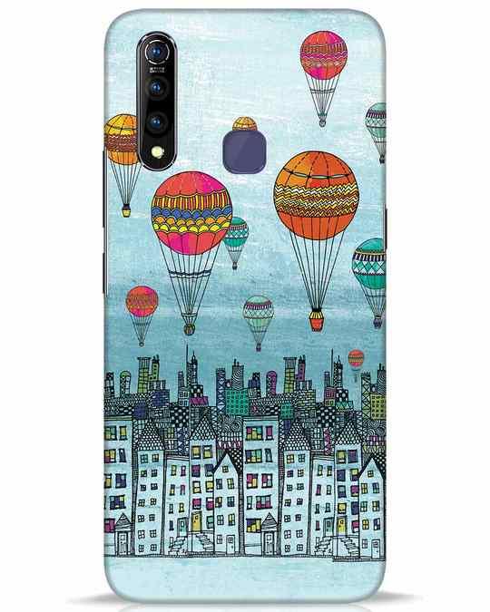 Shop Hot Air Balloon Vivo Z1 Pro Mobile Cover-Front