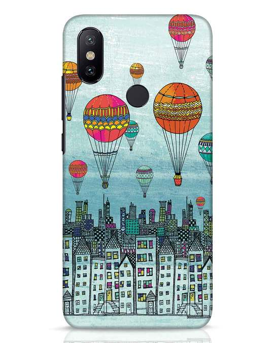 Shop Hot Air Balloon Xiaomi Mi A2 Mobile Cover-Front