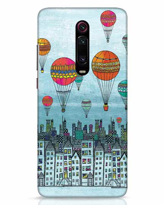 Shop Hot Air Balloon Xiaomi Redmi K20 Mobile Cover-Front