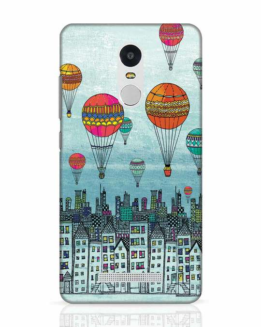 Shop Hot Air Balloon Xiaomi Redmi Note 3 Mobile Cover-Front