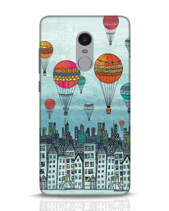 Shop Hot Air Balloon Xiaomi Redmi Note 4 Mobile Cover-Front
