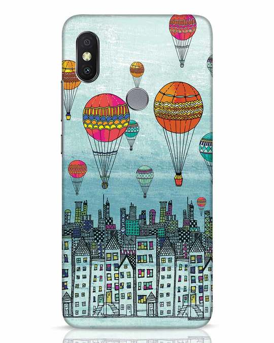 Shop Hot Air Balloon Xiaomi Redmi Y2 Mobile Cover-Front