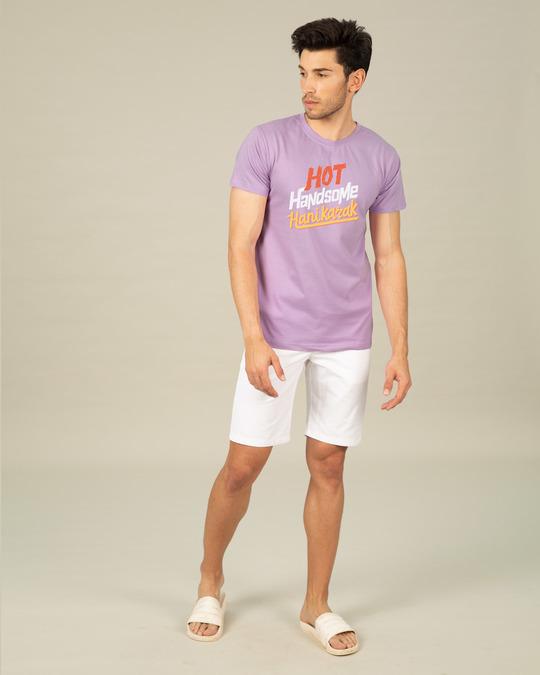 Shop Hot Handsome Half Sleeve T-Shirt-Full