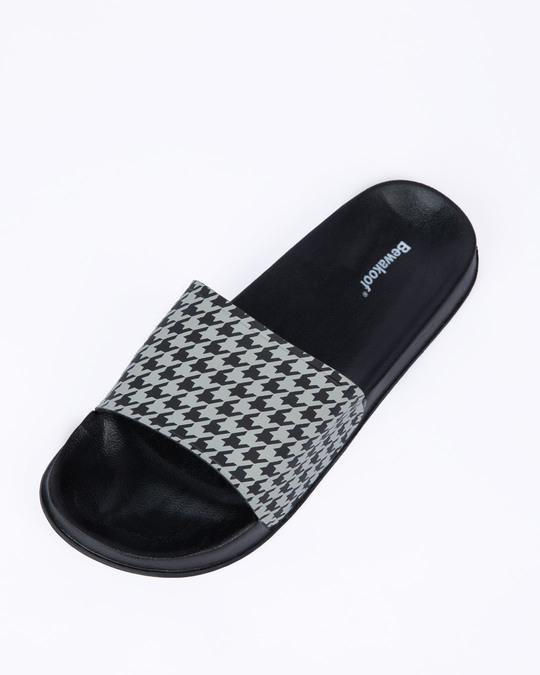 Shop Houndstooth Pattern Lightweight Men's Slider