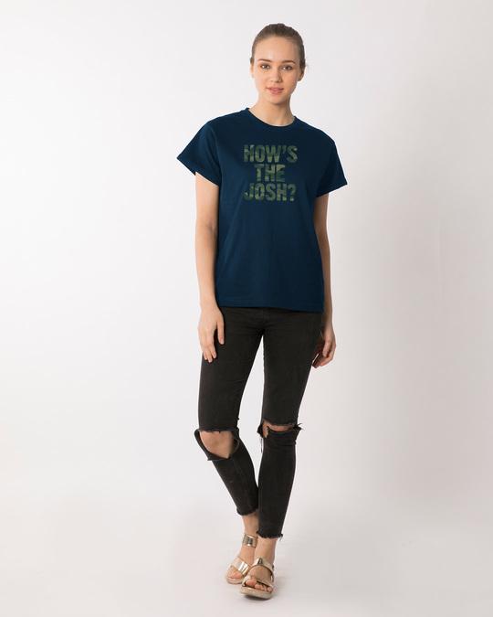 Shop How's The Josh Boyfriend T-Shirt