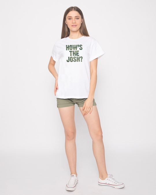 Shop How's The Josh Boyfriend T-Shirt