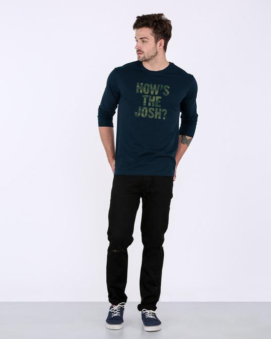 Shop How's The Josh Full Sleeve T-Shirt