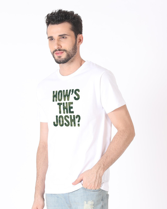 Shop How's The Josh Half Sleeve T-Shirt-Full