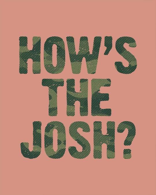 Shop How's The Josh Half Sleeve T-Shirt