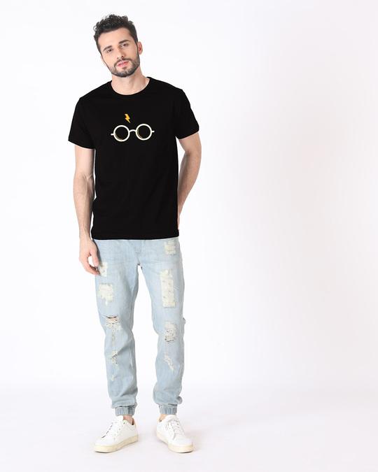 Shop Hp Glasses Half Sleeve T-Shirt
