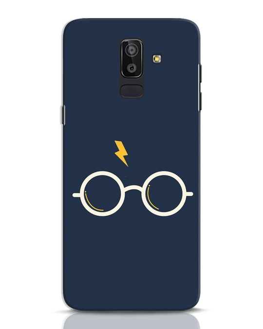 Shop Hp Glasses Samsung Galaxy J8 Mobile Cover-Front