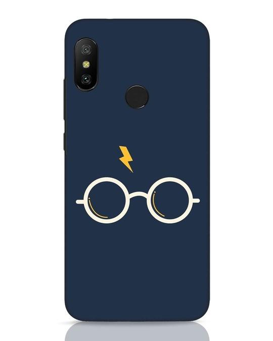 Shop Hp Glasses Xiaomi Redmi 6 Pro Mobile Cover-Front