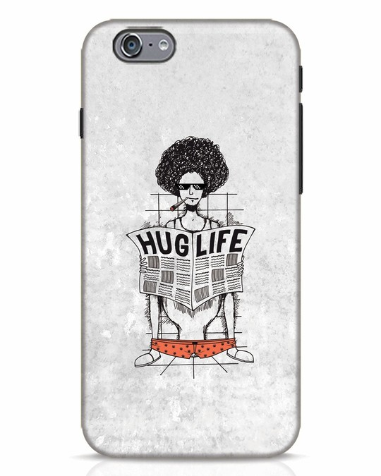 Shop Hug Life iPhone 6 Mobile Cover-Front