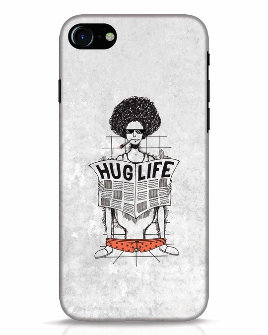 Shop Hug Life iPhone 7 Mobile Cover-Front