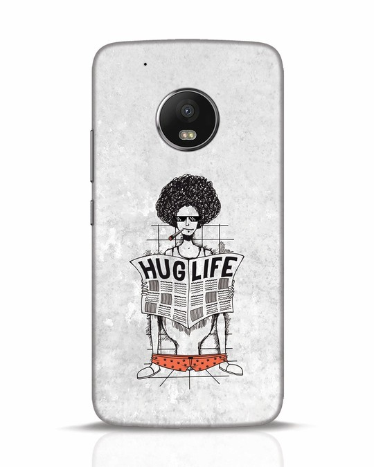 Shop Hug Life Moto G5 Plus Mobile Cover-Front