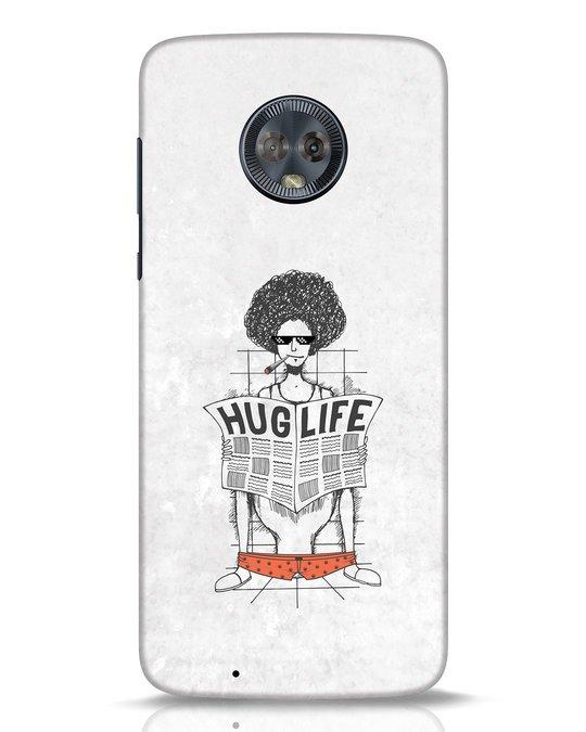 Shop Hug Life Moto G6 Mobile Cover-Front