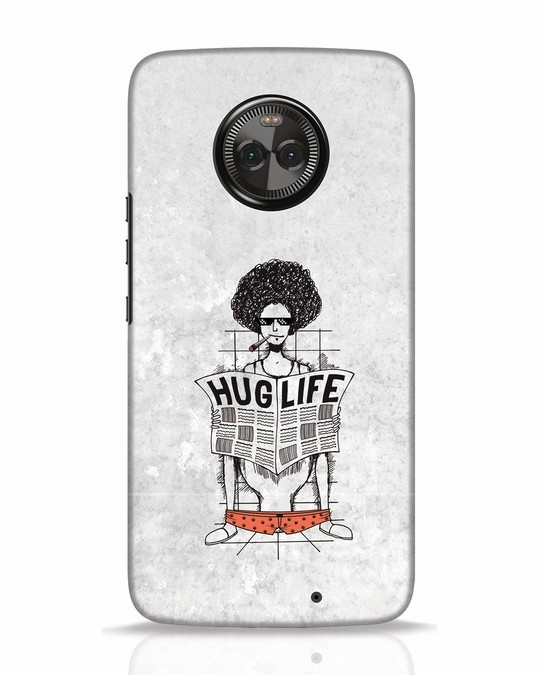 Shop Hug Life Moto X4 Mobile Cover-Front
