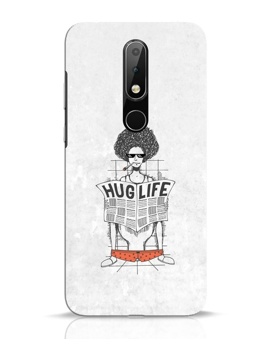 Shop Hug Life Nokia 6.1 Plus Mobile Cover-Front