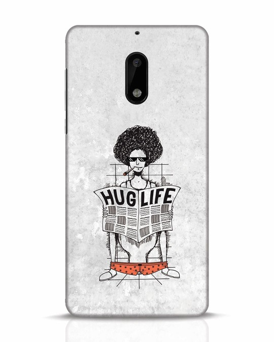 Shop Hug Life Nokia 6 Mobile Cover-Front