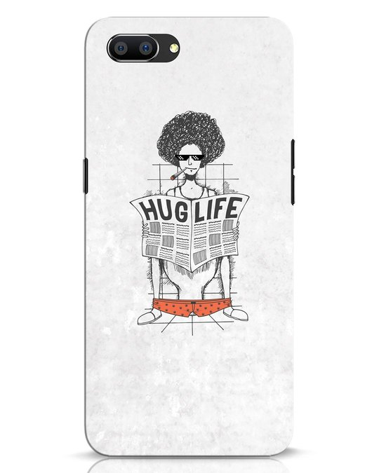 Shop Hug Life Realme C1 Mobile Cover-Front
