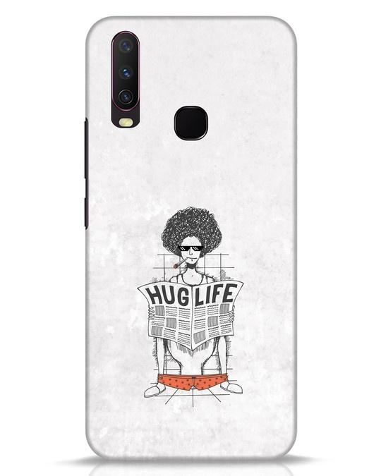 Shop Hug Life Vivo Y17 Mobile Cover-Front