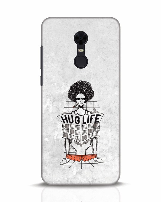 Shop Hug Life Xiaomi Redmi Note 5 Mobile Cover-Front