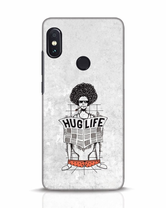 Shop Hug Life Xiaomi Redmi Note 5 Pro Mobile Cover-Front
