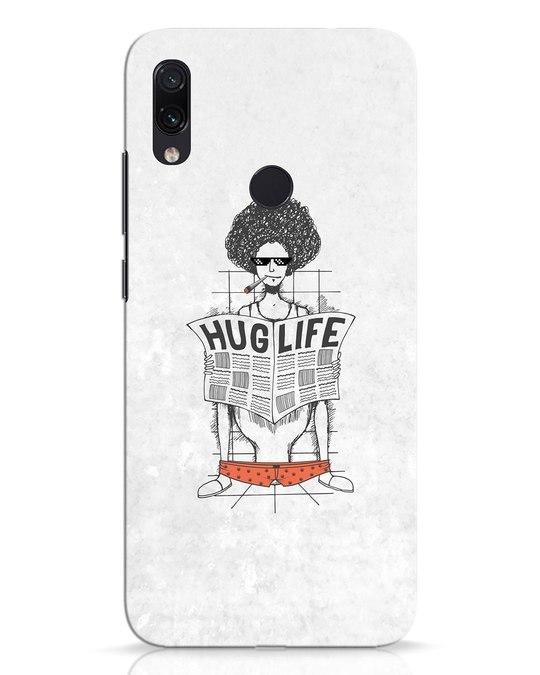 Shop Hug Life Xiaomi Redmi Note 7 Pro Mobile Cover-Front