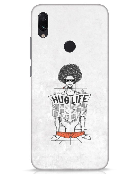 Shop Hug Life Xiaomi Redmi Note 7s Mobile Cover-Front