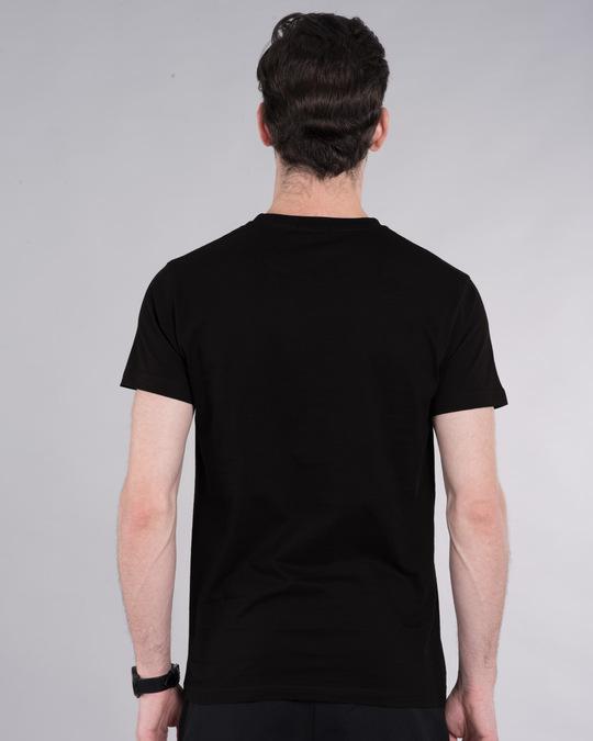 Shop Hulk Face Half Sleeve T-Shirt (AVL)-Back