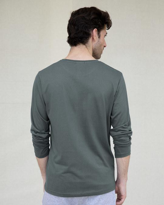 Shop Hulk Fist Full Sleeve T-Shirt (AVEGL)-Back