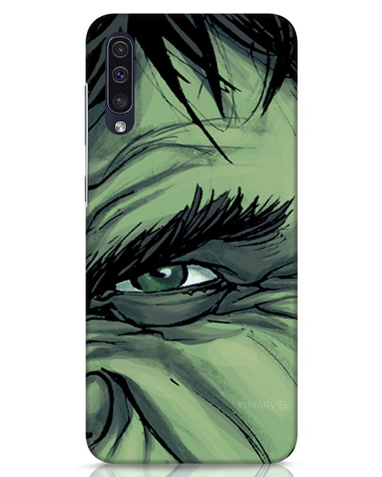 Shop Hulk Samsung Galaxy A50 Mobile Cover (AVL)-Front