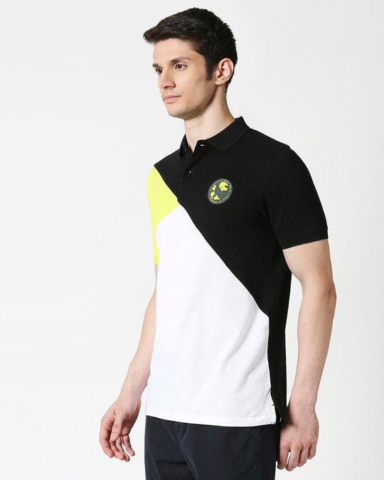 Shop Hulk T-Shirt (AVL) Three Panel Polo-Design