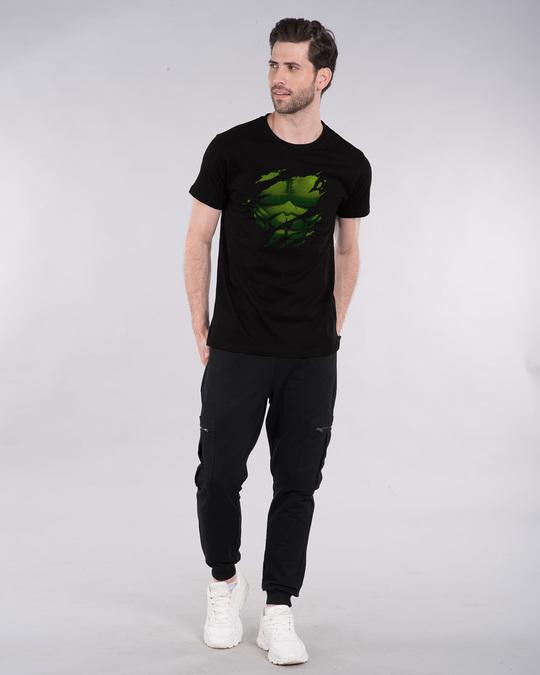 Shop Hulk Torn Half Sleeve T-Shirt (AVL)-Full