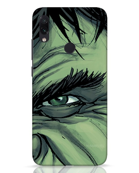 Shop Hulk Xiaomi Redmi Note 7 Pro Mobile Cover (AVL)-Front