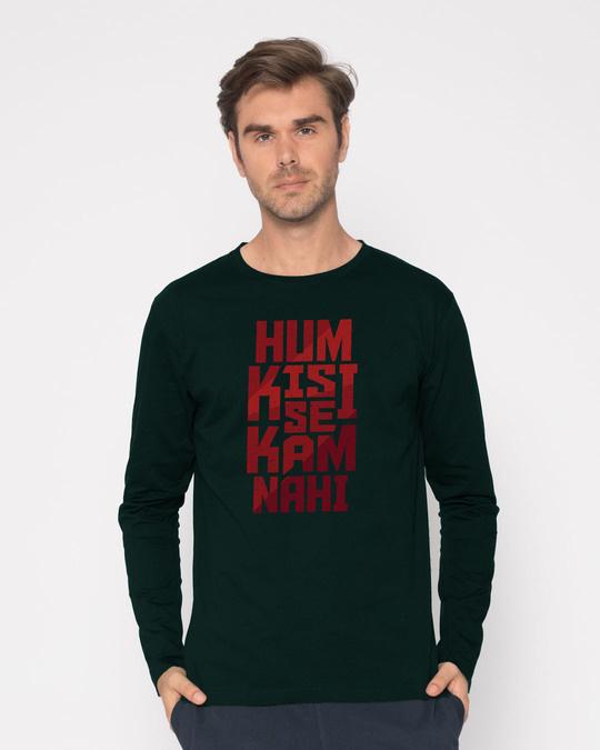 Shop Hum Kisi Se Full Sleeve T-Shirt-Front